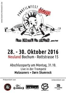 am Fr, 28.10. - So, 30.10. in Bochum
