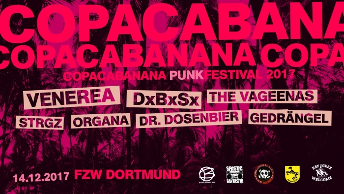 Copacabanana am 14.12. in Dortmund
