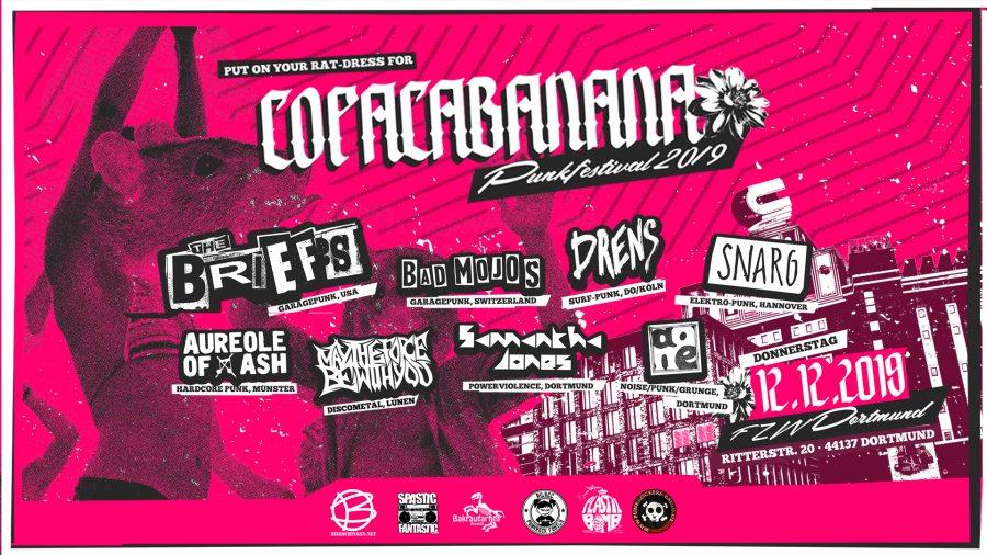 Copacabanana Festival am 12.12.2019!