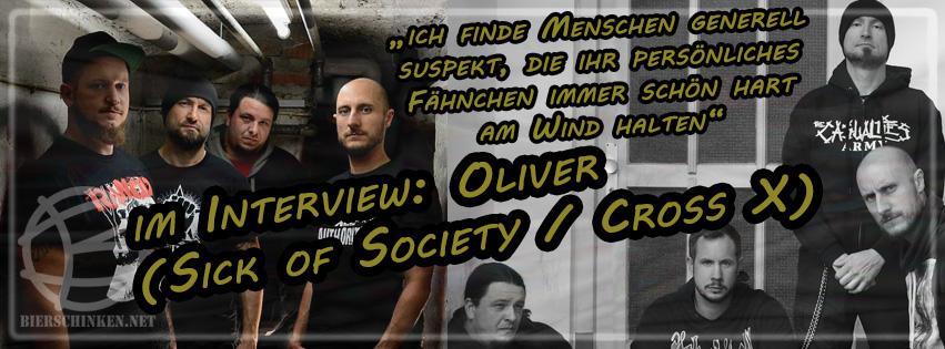 Im Interview: Cross X und Sick of Society