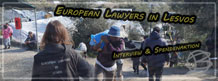 European Lawyers in Lesvos: Spende & Interview